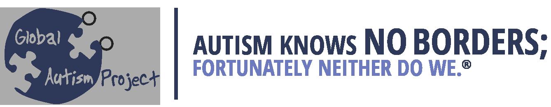 Autism Knows No Borders Logo