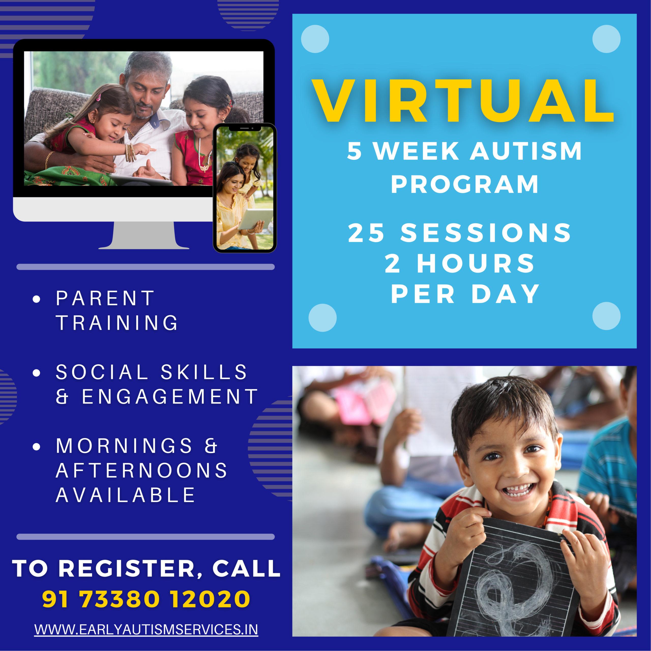 Virtual Autism Program Bengaluru